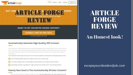 Article forge review