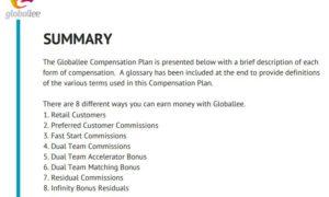 summary of Globallee ranks