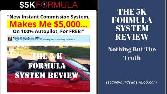 The 5k formula system review