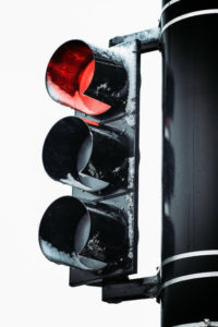 image of a red light