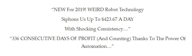 auto chat profit statement