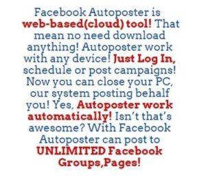facebook autoposter website