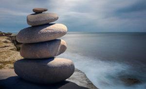 zen rocks - patience