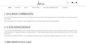 acti-labs compensation