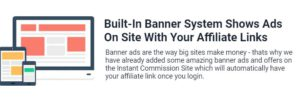 instant commission site banners