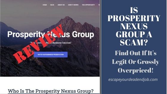 is prosperity nexus group a scam