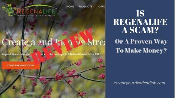 is regenalife a scam