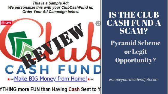 Club cash fund logo image
