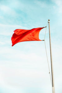 image of a redflag