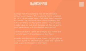 lularoe leadership pool