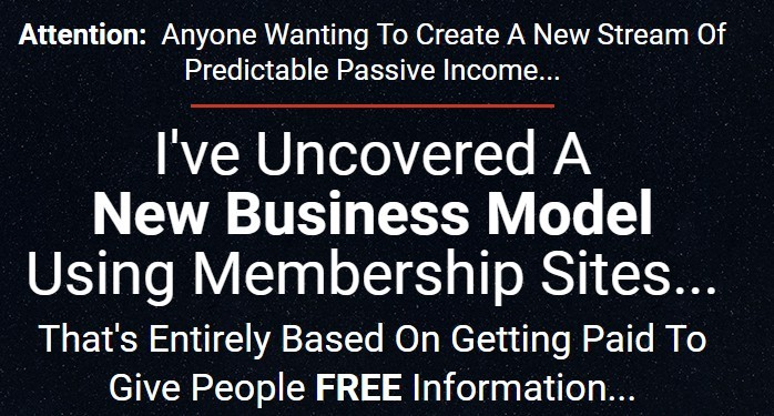Buy Membership Sites Membership Method  For Under 400