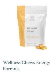 image of Neora wellness chews bag from website