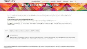 organo coffee income