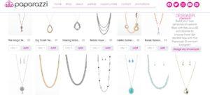 screenshot of paparazzi accessories