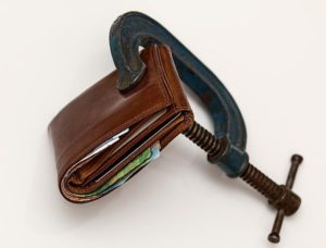 image of a closed wallet
