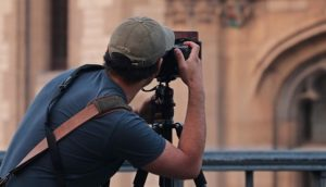 image of a photographer