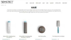 seacret hair