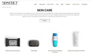 seacret skincare