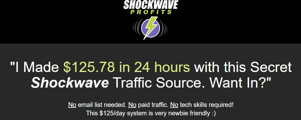 shockwave profits review
