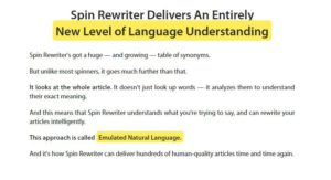 spin rewriter 9 review - What is it.