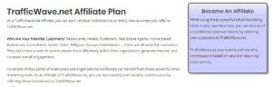 list of affiliate program benefits