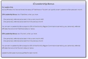 graph of Trafficwave leadership bonus