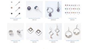 vantel pearls earrings