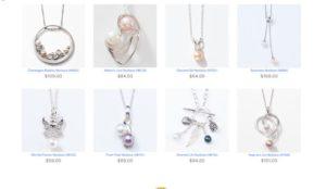 vantel pearls necklaces