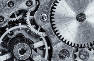 gears that show the ineer workings of something