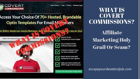 what is covert commissions