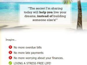 image from my lead gen secret salespage