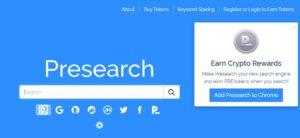 presearch website