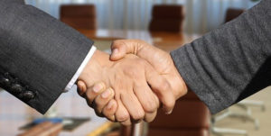 handshake meaning a business agreement
