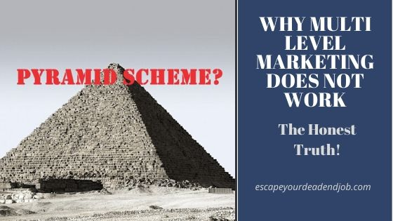 Is Multi level marketing a pyramid scheme?