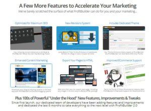 wp profit builder additional features